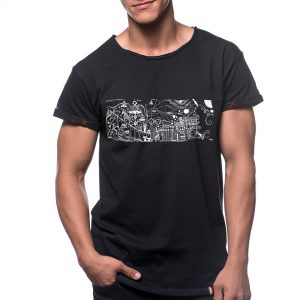 Tricou printat 'AMINTIRI DIN COPILARIE'