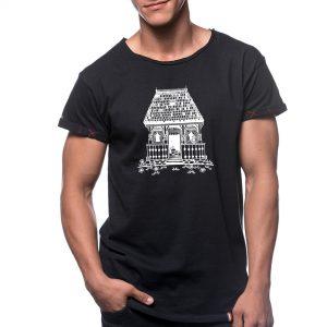 Tricou printat 'CASA TRADIȚIONALĂ'
