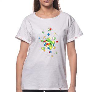 Tricou printat 'CUBUL RUBIK'