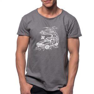 Tricou printat 'DACIA PE TRANSALPINA'