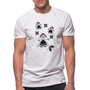 Tricou printat 'DANSUL FLORILOR'