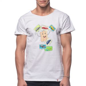 Tricou printat 'GUMA TURBO'