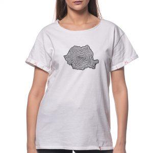 Tricou 'HARTA ÎN SPIRALĂ'