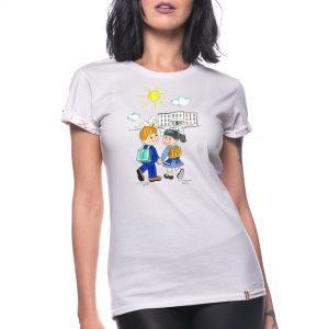 Tricou printat 'PRIMA ZI DE SCOALĂ'