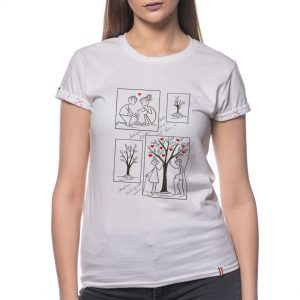 Tricou printat 'HAI SA IMBATRANIM IMPREUNA'