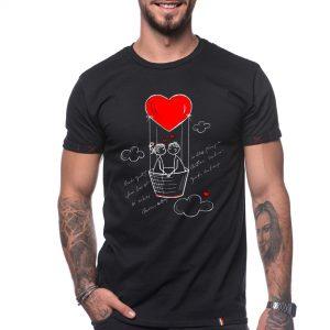 Tricou 'IUBIREA ITI DA ARIPI'