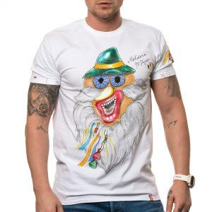 Tricou 'MASCĂ TRADIȚIONALĂ MOLDOVA 1'
