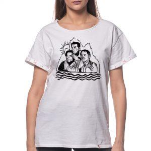 Tricou printat 'BD CÂND LA MUNTE CÂND LA MARE'