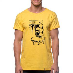 Tricou printat 'PORTRET C. BRANCUSI 1'
