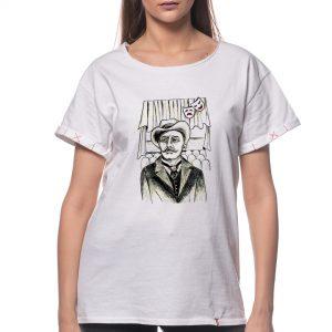 Tricou printat 'I.L. CARAGIALE'