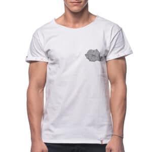 Tricou printat 'HARTA SPIRALA MICA'