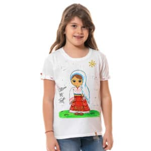 "Tricou pictat ""COSTUM TRADITIONAL OLTENIA"""
