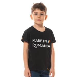 Tricou printat 'MADE IN ROMANIA'