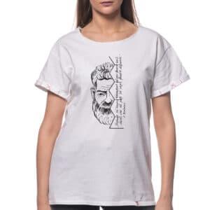 """Tricou printat """"PORTRET C. BRANCUSI 2"""""""