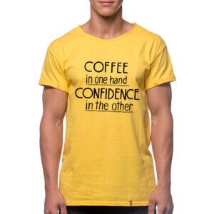 "Tricou ""COFFEE CONFIDENCE"""
