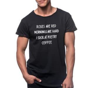 "Tricou ""COFFEE POETRY"""